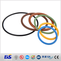 2015 hot sale Colorful rubber o rings in AS568,DIN,JIS or custom size of China
