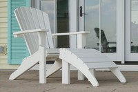 New Style Colorful Outdoor Plastic Lumber Chair