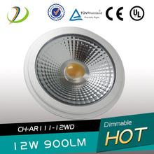 AR111 12w GU10 220v led light spot led 12w warm white led AR111 CE ROHS 1200lm led spot light