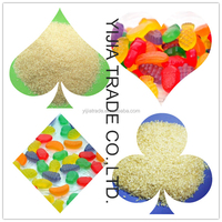 Edible gelatin 220 bloom made of bovine hide well quality control