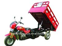 hydraulic self dumping cargo tricycle with tipper