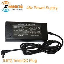 UK US EU plug high voltage switch power supply 48V 60W, the AC to DC 48 volt power supply 60watt