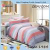 Latest design printing floral design bed sheet set hot sale quilt cover set