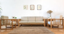 Popular promotional indian modern wooden sofa design