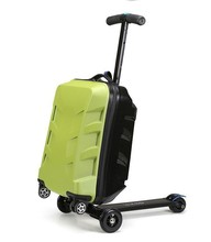 hot selling changeable beautiful design abs+pc handle spinner kids animal school trolley luggage
