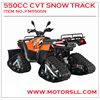 4x4 ATV 600cc with snow track