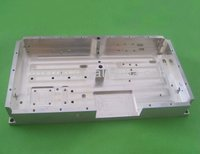 Precision extruded aluminum electronic enclosure with CNC machined process