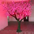 árbol de luz al aire libre