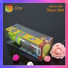Special Custom LOGO Transparent Folding Plastic Small Boxes