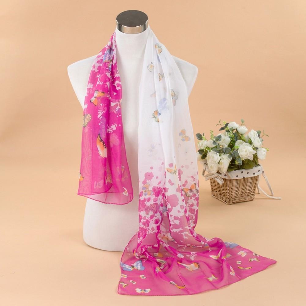 Knitting printed pattern new desing seamless tube scarf