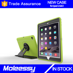 TotalShield Crystal Clear Soft TPU Gel Case for iPad 6 with Shock Absorption Case for Apple iPad Air 2