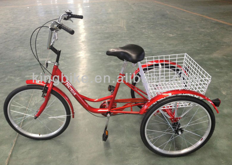 3 wheel adult tricycle wholesale/Cheap cargo bike KB-T-Z13