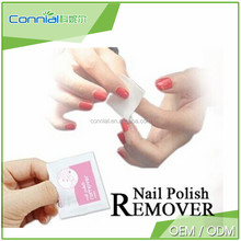 nail cleaning wet wipes, high polished nail polish remover, factory price