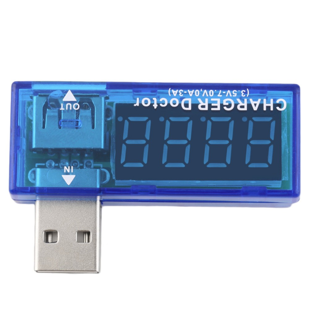 USB Charger Doctor Mobile Battery Tester Power Detector Voltage Current Meter