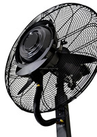 """High Power Misting Fan 26"""" with 1000 Sq Ft Cooling & 5 Gal Tank"""