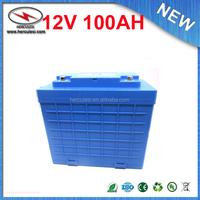 Solar Street Lights lithium battery pack 12V 100Ah Lithium 12v Battery Pack For Solar Street Lights