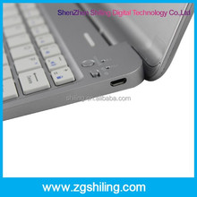 3-in-1 Wireless Bluetooth Keyboard/Display Stand/Back Cover Built-in Lithium Battery For 7.9 inch Apple iPad Mini
