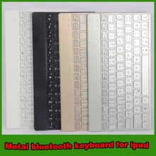 Hot selling metal aluminum bluetooth keyboard