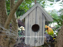 garden decoration wooden craft wooden bird house