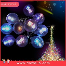 Hot sale christmas tree ornament,Top quality popular christmas decoration hanging ball with Led light up