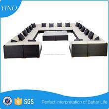 18 asiento piscina sofá Set jardín Patio sofá set, silla para exteriores silla, Rattan mimbre caña tumbona SM0086
