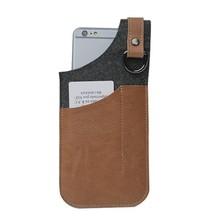 Felt cell phone bag mobile phone case