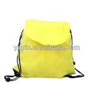 cheap cute plain 210D/420D/600D drawstring backpack