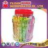 25g fruit jelly stick jelly straw in plastic jelly jars