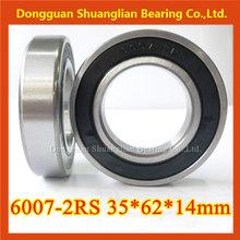 Deep groove ball bearing tractor wheel 6007zz 6007-2RS 35*62*14mm 6000 series water pump bearing autozone