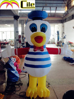 CILE 2015 hot selling customized donald duck inflatable cartoon