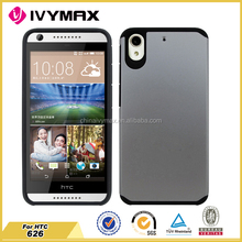China manufcturer for HTC 626 protective phone case TPU+PC bumper case