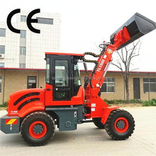 popular use telescopic forklift TL1500 with front end wheel loader for sale