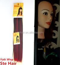 Stefull hair good quality good quality synthetic yaki hair braids