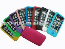 Cholocate silicone soft skin case back cover for iphone 3GS,3G