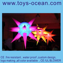 inflatable advertising /LED lighting decoration inflatable/inflatable solar led lights