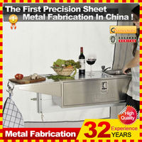stainless steel kitchen for camper trailer