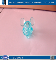 creative and beautiful design high level plastic cnc machining mickey mouse cartoon image mould