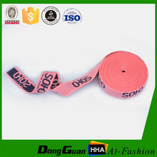 Designed Promotional wide jacquard color elastic band for underwear