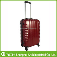 ABS PC luggage set with wheels, trolley case or suitcase