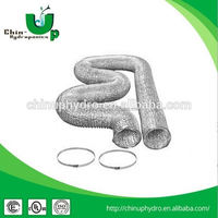 hydroponic aluminium exhaust duct/ ventilation system/ air ducting pipe for hydroponics