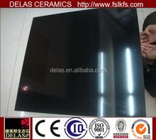 China Dark Super Black Polished Tile