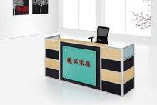 Office counter design for small screen reception desk