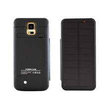 SOLAR Battery Case Cover Charger Flip Backup External 3800mAh for Samsung Galaxy S5