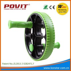 Double function ab roller exercise wheel, ab wheel roller