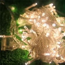 warm white multi-color wedding holiday new year garden tree decorative LED string lights, led starry star lighting