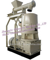 Large flat die cotton stalk pellet machine / particle machine