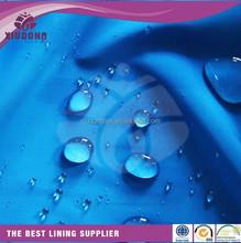 100% polyester nlyon waterproof taffeta 70d 190T taffeta lining fabric shaoxing manufacture 190T RIPSTOP NYLON TAFFETA FABRIC