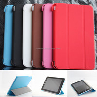 3-folding folio cover pu Leather Case Cover for Dell Venue 8 Pro