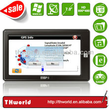 2014 NEW SALE 7 INCH THAILAND MAP NAVIGATION GPS 8GB MEMORY ONLY $35.00/PC