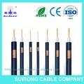 2015 50 lmr200 ohmios cable coaxial de rf del cable coaxial